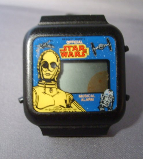 Star Wars C3PO Musical Alarm & Animation Bradley Watch