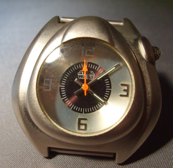 Star Wars Black Faced Rare Vintage One of a Kind Japan Watch