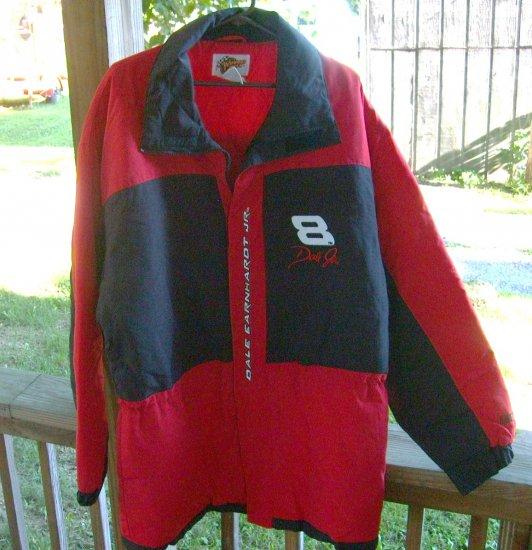 Nascar Dale Earnhardt Jr Racing Jacket Coat Budweiser 8