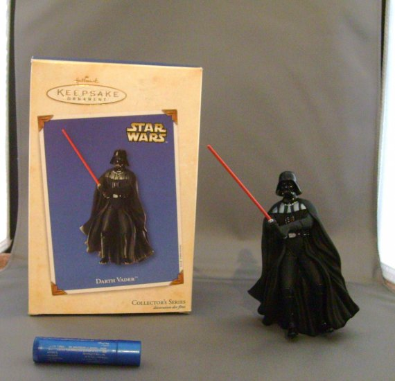 Star Wars Darth Vader Hallmark Xmas Christmas Tree Ornament MNMB