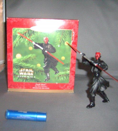Star Wars Darth Maul Hallmark Xmas Christmas Tree Ornament M