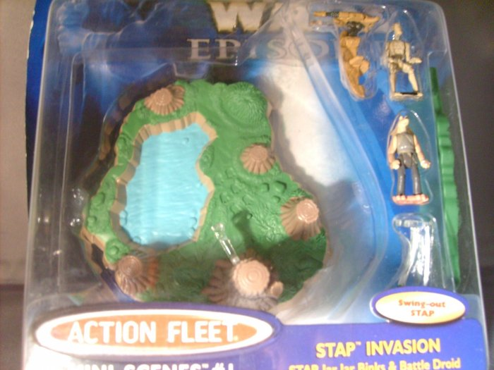 Star Wars EP1 The Phantom Menace Stap Invasion Mini Scenes #1 Action Fleet