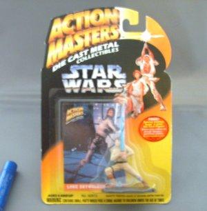 Star Wars Luke Skywalker Action Masters Die Cast Figure MNMB
