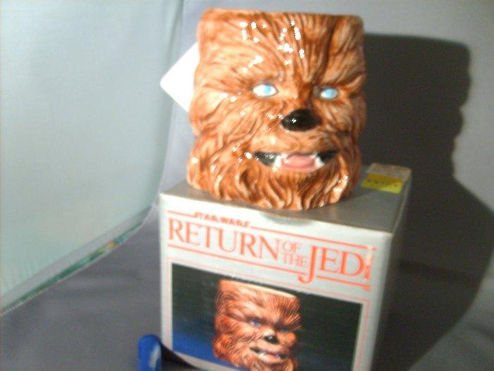 Star Wars Chewbacca Sigma ROTJ Return Of The Jedi Ceramic Mug M