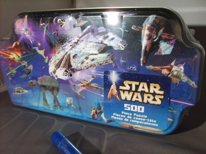 Star Wars 500 Piece Vehicles Hasbro Puzzle Collect All 4