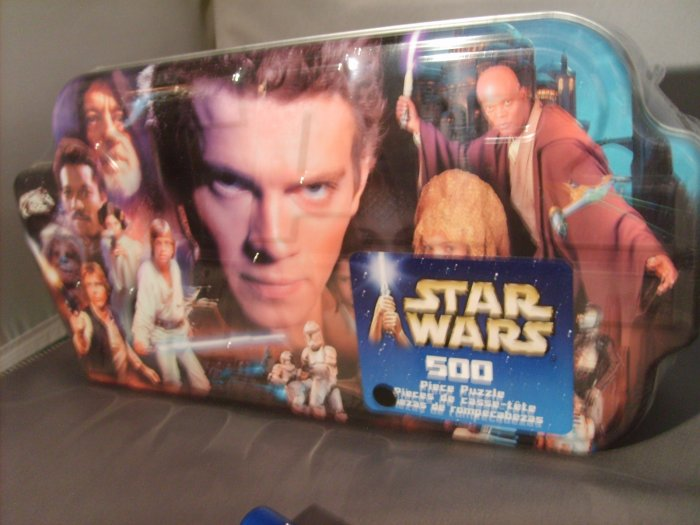 Star Wars 500 Piece Heroes Hasbro Puzzle Collect All 4