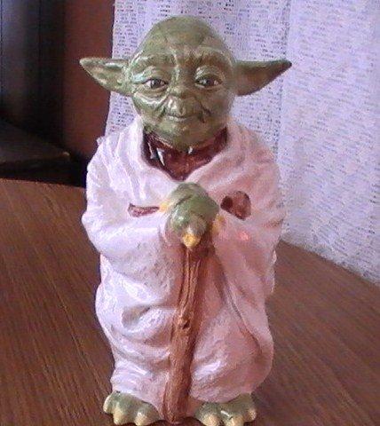 Star Wars Vintage Yoda Sigma Ceramic Bank NM-M