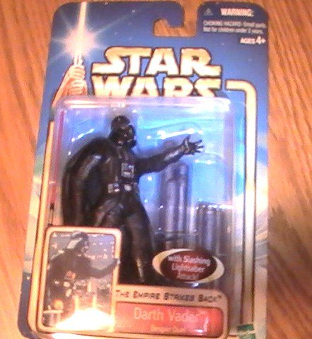 Empire Strikes Back Star Wars Saga 3 3/4 inch Darth Vader Open Hand Figure See Others!