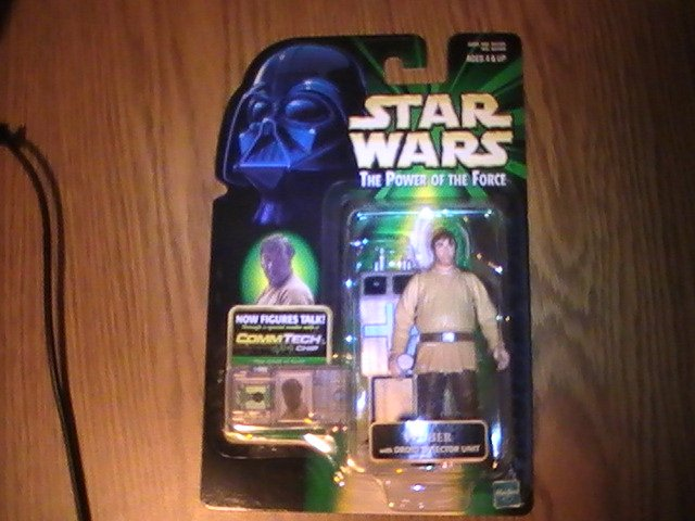 Star Wars POTF2 Green Card Commtech Chip 3 3/4 inch Wuher Figure See Others!