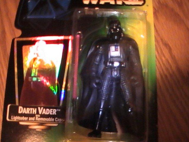 Star Wars POTF Green Card Gold Foil 3 3/4 inch Darth Vader  Figure See Others!