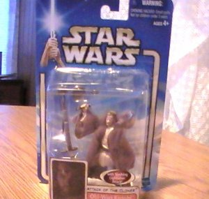 Star Wars AOTC 3 3/4 inch Obi Wan Kenobi Figure See Others!