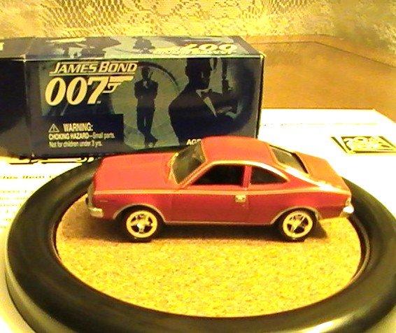 James Bond 007 Johnny Lightning Action Hero LE AMC Hornet # 3 Rare Man With Golden Gun