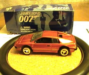 James Bond 007 Johnny Lightning Action Hero LE Bronze Lotus Esprit Turbo # 4 Rare 4 Your Eyes Only
