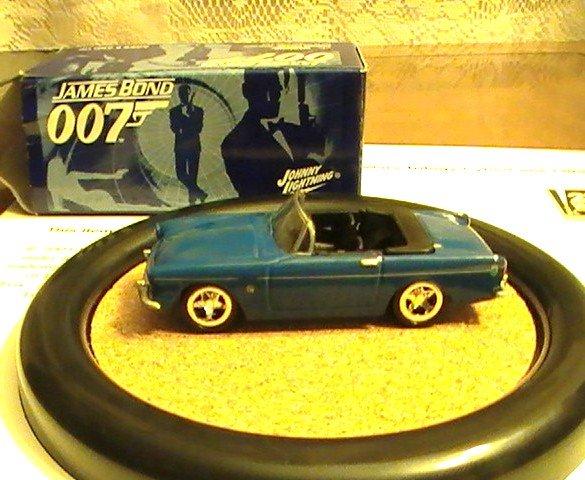James Bond 007 Johnny Lightning  Action Hero LE Sunbeam Error Alpine / Tiger # 6 Rare Dr NO