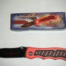 "Homeland Heroes #2 Firefighter Fire Fighter 4 1/2 "" Tactical Collectible Collector Knife"