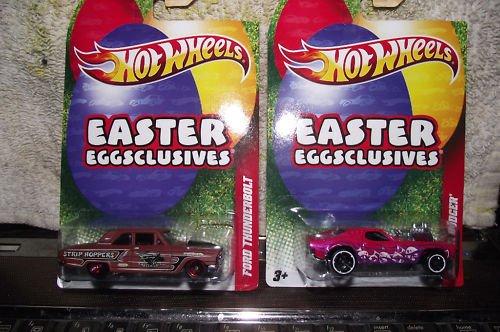 Hotwheels Hot wheels Easter Eggsclusives 1:64 Ford Thunderbolt Car 2011