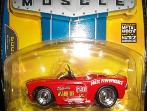 Jada Big Time Bigtime 1967 Red Shelby Mustang 500GT Pedal Car
