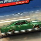 Hotwheels Hot wheels 1965 1:64 Green Impala Pinstripe Power Car MIP