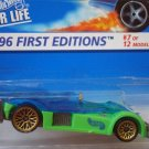 Hotwheels Hot wheels Road Rocket 1:64 Green Blue Error Package Version! HTF