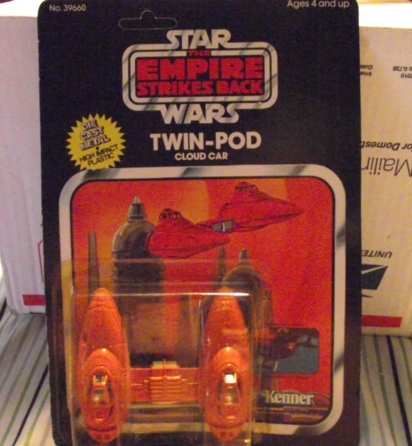 Vintage Star Wars ESB Die Cast Twin Pod Cloud Car Great Price!