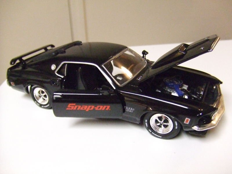 "Crown Premiums! ""1969 Mustang Boss 429!"" Snap-On! 1:38 MIB"