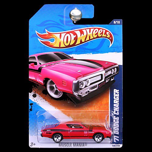 Hotwheels Hot wheels 1971 Pink Charger or Purple Dodge Challenger Buy More & Save
