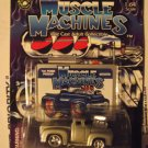 Muscle Machines 56 1956 Grey Hotrod Ford Pickup Truck Classic Made Better!