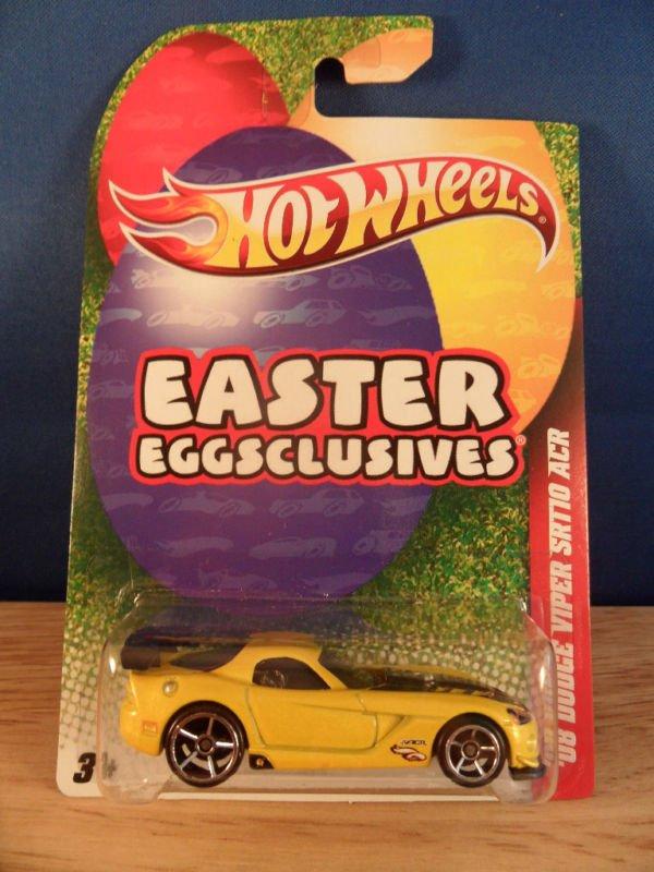 Hotwheels Hot wheels Easter Eggsclusives 1:64 Yellow Dodge Viper Race Car 2011