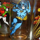 Batman Super Hero Rounded Bottom Variant Glass by Pepsi! VHTF