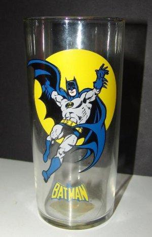 Batman  Robin 1993 Vintage Batman DC Comics Super Powers Glass