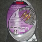 *~NIP RCA Digital Audio/Video Cable 3FT-FREE Ship!
