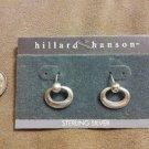 *~NEW Sterling Silver Circular Dangle earrings