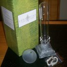 *~NIB Southwind Collection Ashton Glass Candlestick oil lamp-Free Ship!