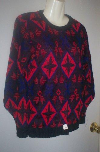 """*~SALE! NWT Vintage """"Alexander's"""" Multi color sweater L/s sz S-M"""