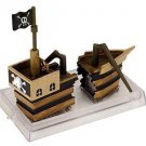 *~NIB Activair Pirate Ship Action Air Aquarium Ornament