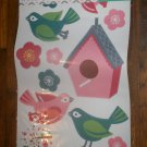 *~New Stick N Style Wall Graphics (Large Wall Stickers)Birds/Birdhouse