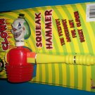 *~New Evil Clown Sqeak Hammer
