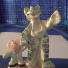 *~New Robin Russell Bunny, Tiger & Cat Figurine-2003