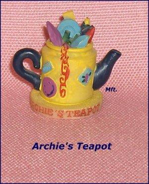 Collectible Tetley Mini- Teapots  Archie's Teapot