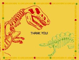 Dino-mite Thank You