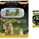 PlayStation Portable PSP-2001 Slim - Silver Bundle w/ Daxter, 1GB Memory, and 21 more games