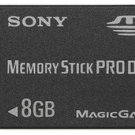 Sony 8GB Memory Stick PRO Duo™ Media