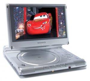 "MAGNAVOX mpd 850 8.5"" Portable DVD Player"