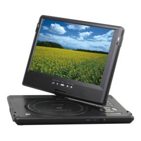 "Initial IDM-1295 Portable 10.2"" DVD Player - Progressive Scan, Swivel-Mounted (TFT) LCD"