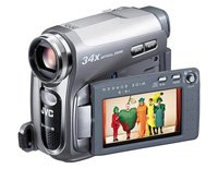 """Jvc MiniDV Digital Camcorder with 2.7"""" LCD Screen and 34x Digital Zoom"""