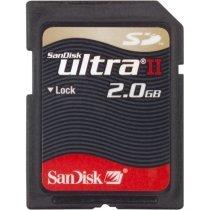 SANDISK 2GB (2048MB) ULTRA II SECURE DIGITAL - SDSDH-2048-901