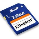 Kingston 1GB Secure Digital Card