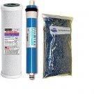 Filter Replacement Set 2 Carbon + DI Membrane