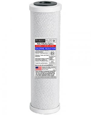 (2)-1 Micron Solid Carbon Block Filters