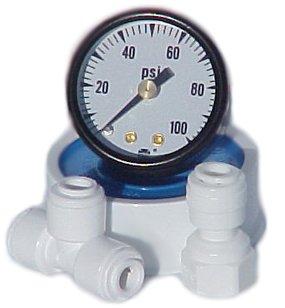Pressure gauge add on